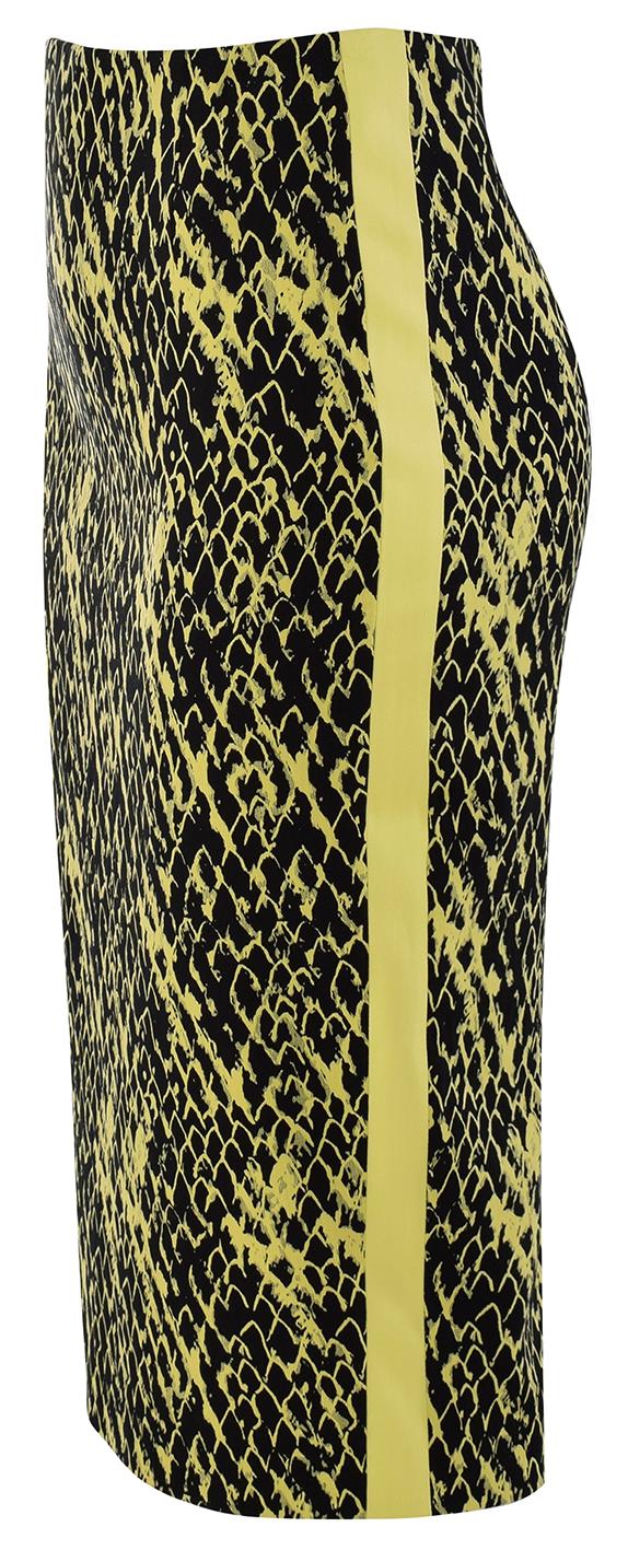 Ołówkowa spódnica z bawełny Wiosna Lato 2019 | Sklep