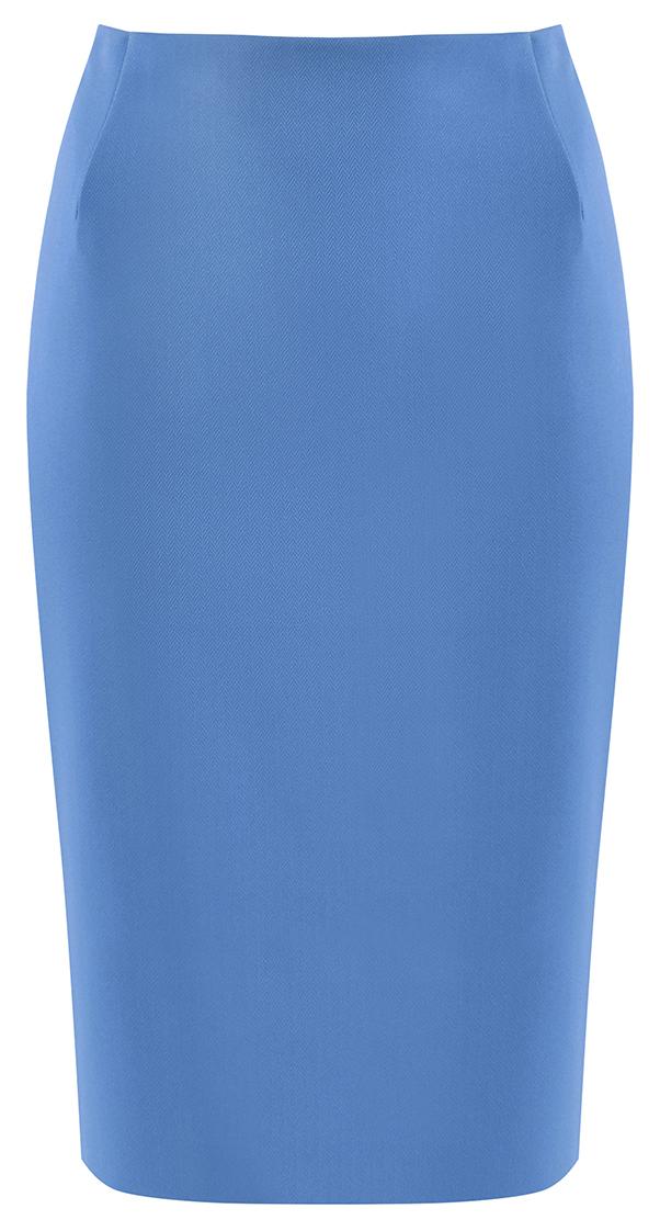 Ołówkowa spódnica w kolorze malinowym   Outlet  Spódnice